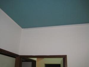 室内側貫通部付近の仕上がり