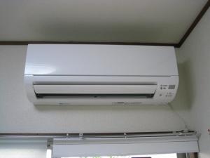 賃貸住宅にエアコンを設置