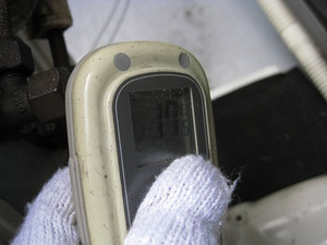 ガス管側バルブの温度が高い