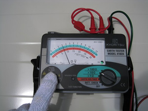 接地抵抗の測定