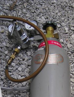 窒素レギュレーター