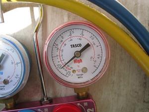 低圧圧力約0.4MPa