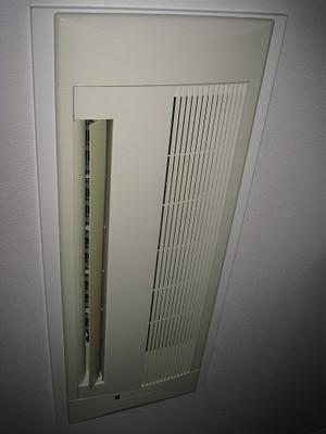 天井カセット型エアコン室内機