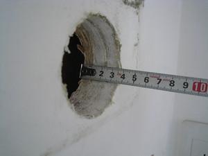 壁の構造を確認