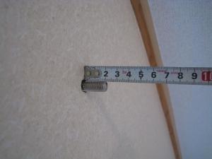 公団ボルトの長さを測定