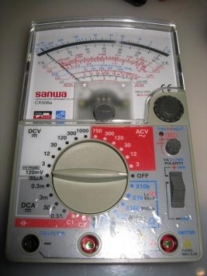 アナログマルチメーター(回路計)