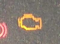 エンジンチェックランプ点灯