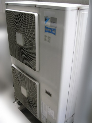 業務用エアコンの室外機