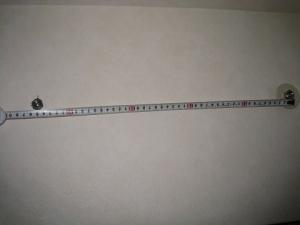 公団ボルト寸法に合っているか間隔を計測