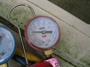 運転停止時の圧力1.25MPaでガス不足