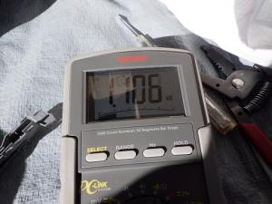 スイッチを押し直すと1.106kΩ