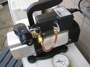 銅管を接続して改良