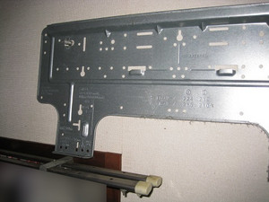 据付板の設置状態