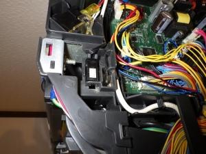 ホコリを除去した温湿度センサー