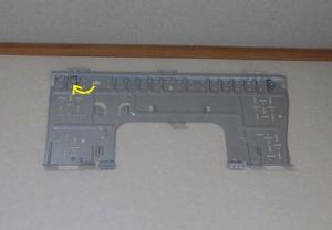 据付板を加工したボルトに固定
