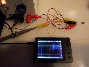 汎用品の赤外線受信モジュールをテスト中